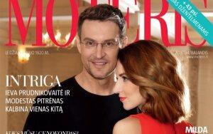 """Balandžio """"Moters"""" viršelio veidai M. Pitrėnas ir I. Prudnikovaitė: stebina, kad šiuolaikiniams vyrams neretai paprasčiau išvardyti kvepalų natas nei variklio dalis"""