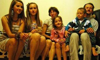 Alminos ir Vilmanto Adamukaičių šeima