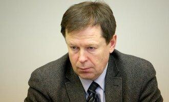Miškų departamento direktorius Valdas Vaičiūnas