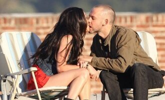 "Megan Fox ir Dominicas Monaghanas   ""Splash News"" nuotr."