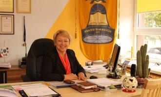 Kražių gimnazijos direktorė Rita Andrulienė