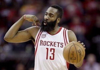 NBA naktis: pergalingas nesustabdomo J. Hardeno metimas ir trileris su pratęsimu Orlande