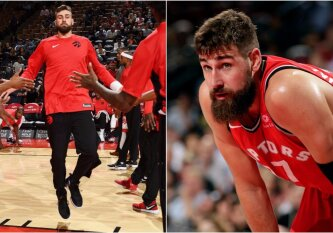 "ESPN prognozė: ""Raptors"" vėl bandys išmainyti J. Valančiūną"