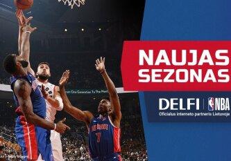 DELFI skaitytojams – NBA transliacijos patogesniu laiku ir proga laimėti kelionę į JAV