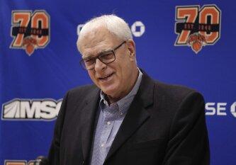 """Oficialu: išsiskyrė """"Knicks"""" ir Ph. Jacksono keliai"""
