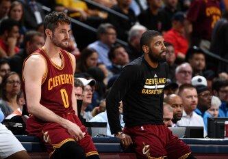 """""""Iš viršaus"""": smarkiai blėstantys """"Cavaliers"""" šansai apginti NBA čempionų titulą"""