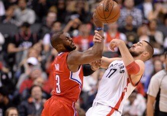 """NBA mainų karuselė: Ch. Paulas žais """"Rockets"""" klube"""
