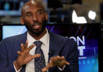 Buvusi NBA žvaigždė K. Bryantas nustebino: nė kiek nepasiilgau krepšinio
