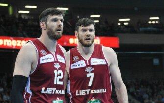 Kšyštofas (kairėje) ir Darjušas Lavrinovičiai