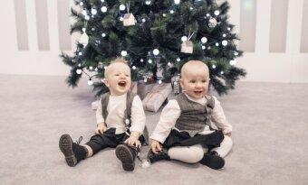 Zvonkų dvynių gimtadienio akimirkos