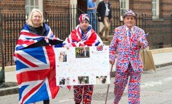 Britai laukia karališkojo kūdikio gimimo