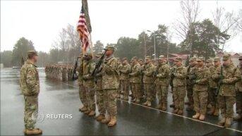 Американские военнослужащие прибыли в Латвию в рамках операции