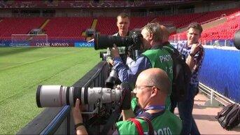 Сборные России и Португалии по футболу готовятся к матчу Кубка Конфедераций