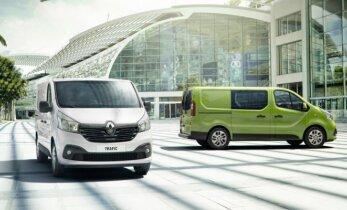 """Pasirinkimas tarp """"Fiat Scudo"""" ir """"Renault Trafic"""" bus tik skonio reikalas"""