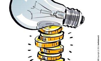 Investicija, leisianti už apšvietimą mokėti per pus mažiau