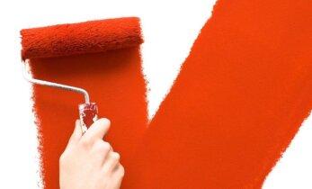 Ekspertų patarimai, kaip paprastai ir greitai perdažyti sienas