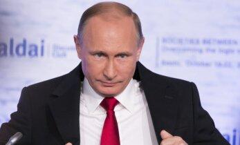Iš V. Putino – agresyvi ataka prieš JAV politiką