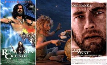 Įdomiausi filmai, kuriuos įkvėpė Robinzono Kruzo istorija
