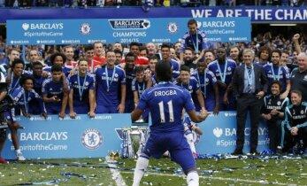 """Premier"" lygos finiše - ""Chelsea"", ""Manchester City"" ir ""Arsenal"" klubų pergalės"