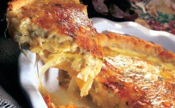 Fantastiškas svogūnų ir sūrio apkepas