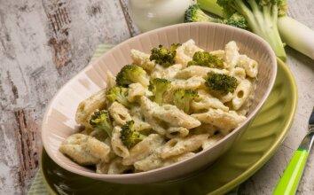 Makaronai su brokoliais