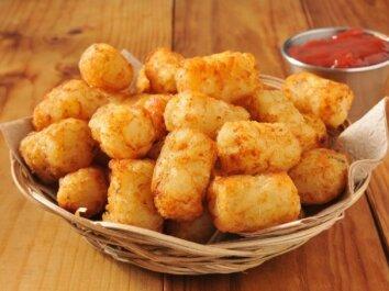 Traškūs bulvių kukuliai su sūriu