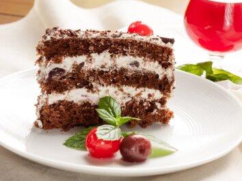 Šokoladinis tortas su paslaptimi