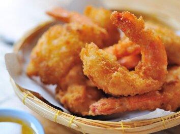 Keptos krevetės