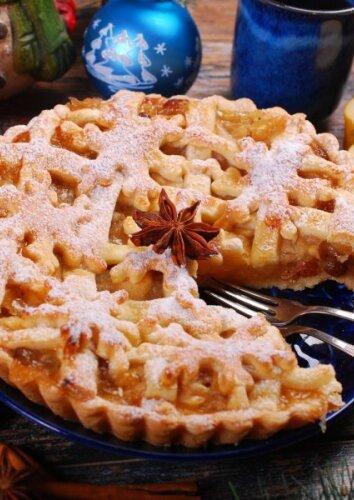 Šventinis obuolių pyragas