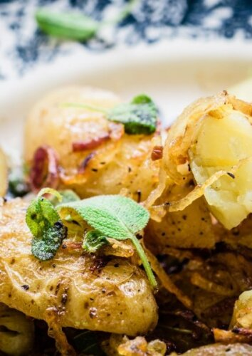 Pagal itališką receptą keptos bulvės