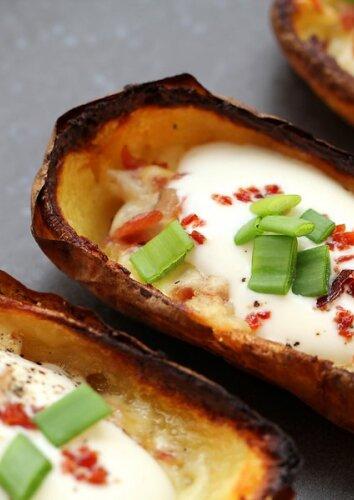 Įdarytos bulvių odelės