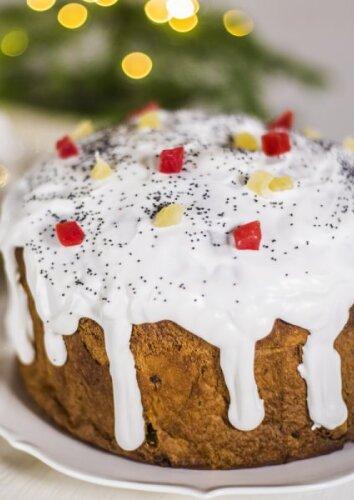 Klasikinis itališkas pyragas PANETTONE
