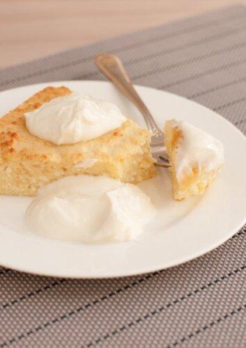 Varškės ir kondensuoto pieno pyragas