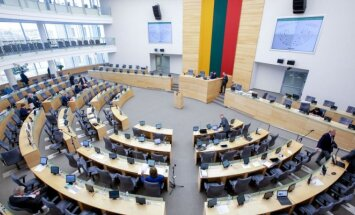 Seimas main hall