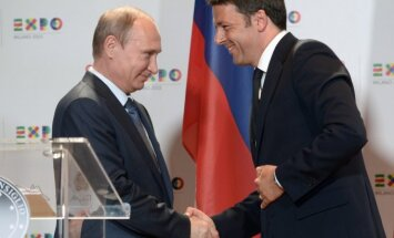 V. Putino vizitas Italijoje