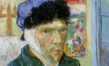 V. Van Gogho autoportretas