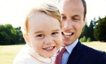 Princas Willliamas ir princas George