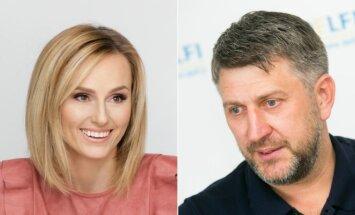 Lina Paukštė ir Darius Maskoliūnas