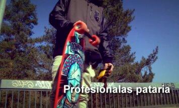 Profesionalas pataria: kaip su ilgąja riedlente išlaikyti pusiausvyrą