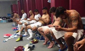 Argentinos futbolo rinktinės persirengimo kambarys