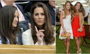 Pippa ir Kate Middleton, Lydia ir Irene Forte