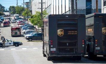 UPS darbuotojas nušovė tris kolegas ir nusižudė