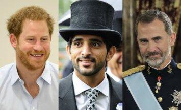 Princas Harry, Hamdanas bin Mohammedas Al Maktoumas, karalius Felipe VI