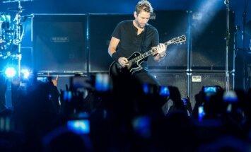 Nickelback koncertas Kaune