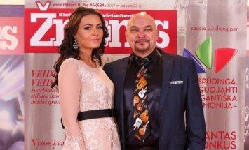 Arvydas Vilčinskas su žmona Rūta