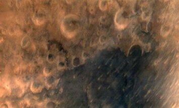 Pirmoji Mangalyan zondo iš 7600 m aukščio užfiksuota Marso nuotrauka