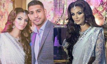 Amiras Khanas su žmona Faryal