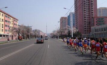 Maratonas Šiaurės Korėjoje