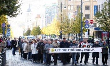 Pensioners meeting in Vilnius