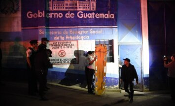 Gvatemalos kalėjime kilo riaušės